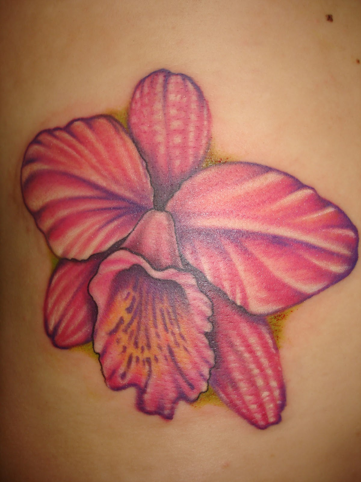 Orchid Tattoos Designs Ideas and Meaning
