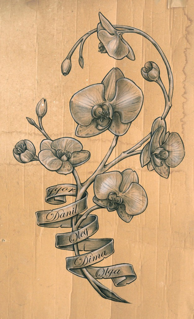 Orchid Tattoo Meaning