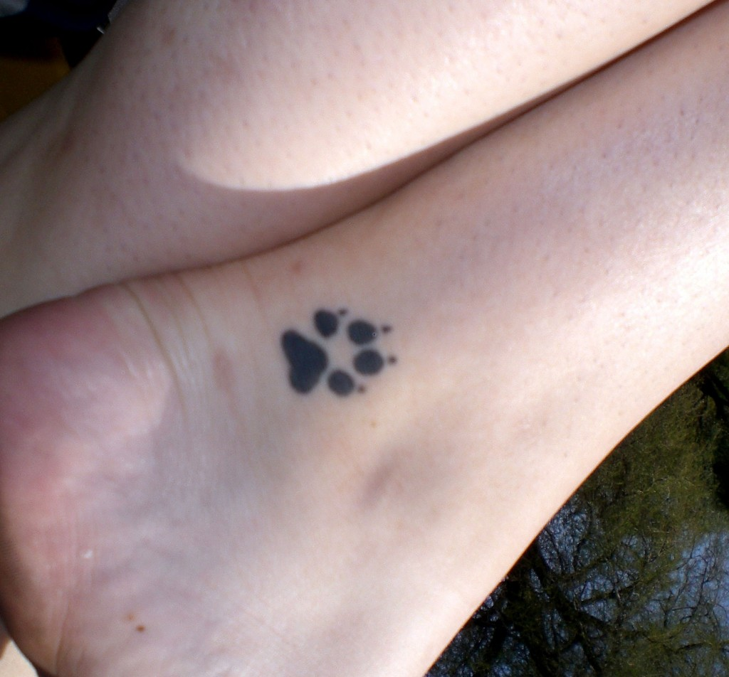 Paw Prints Tattoo