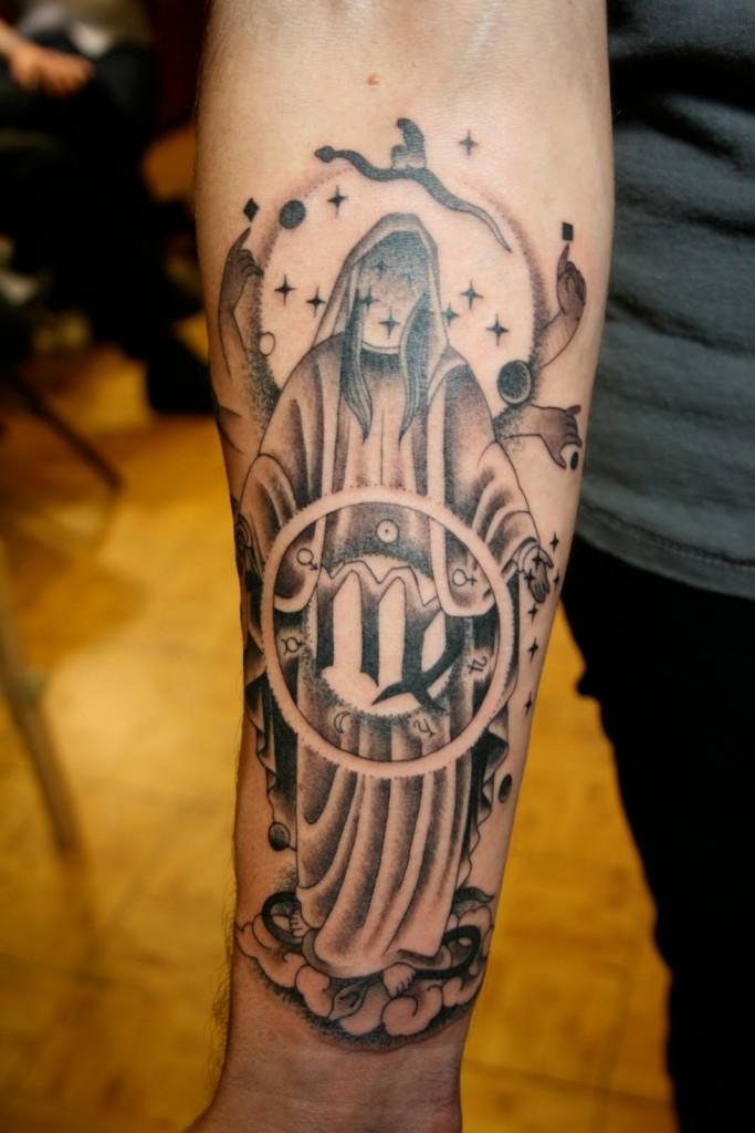 Pics of Virgo Tattoos