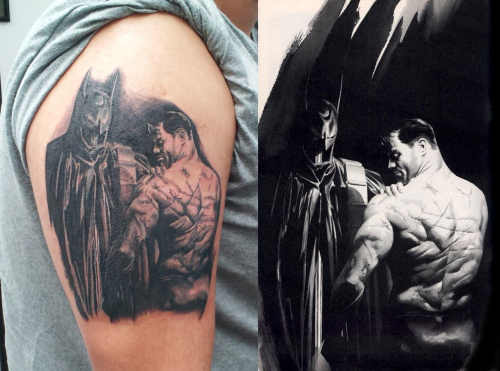 Pictures of Batman Tattoos