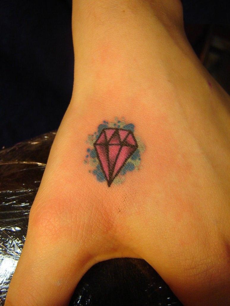 diamonds tattoos designs - photo #10