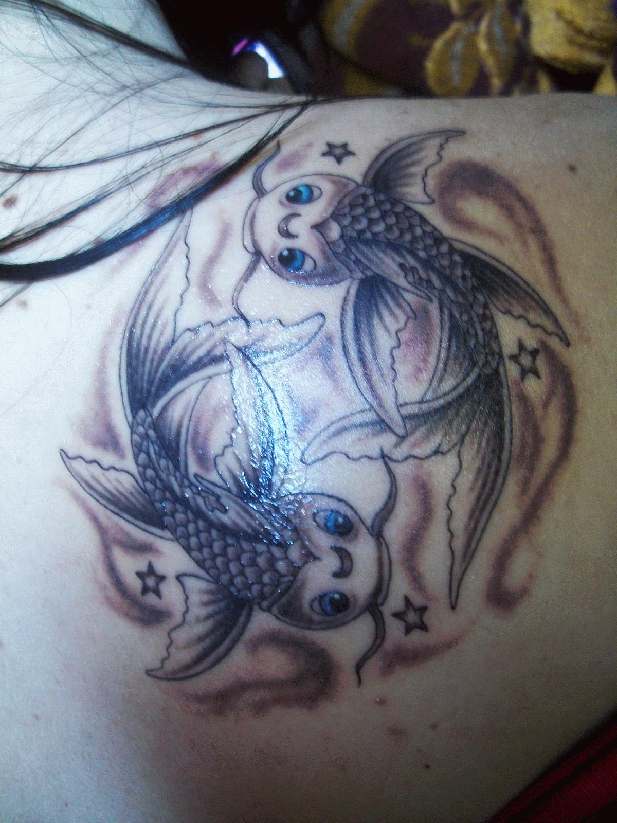 Pisces Tattoo For Men