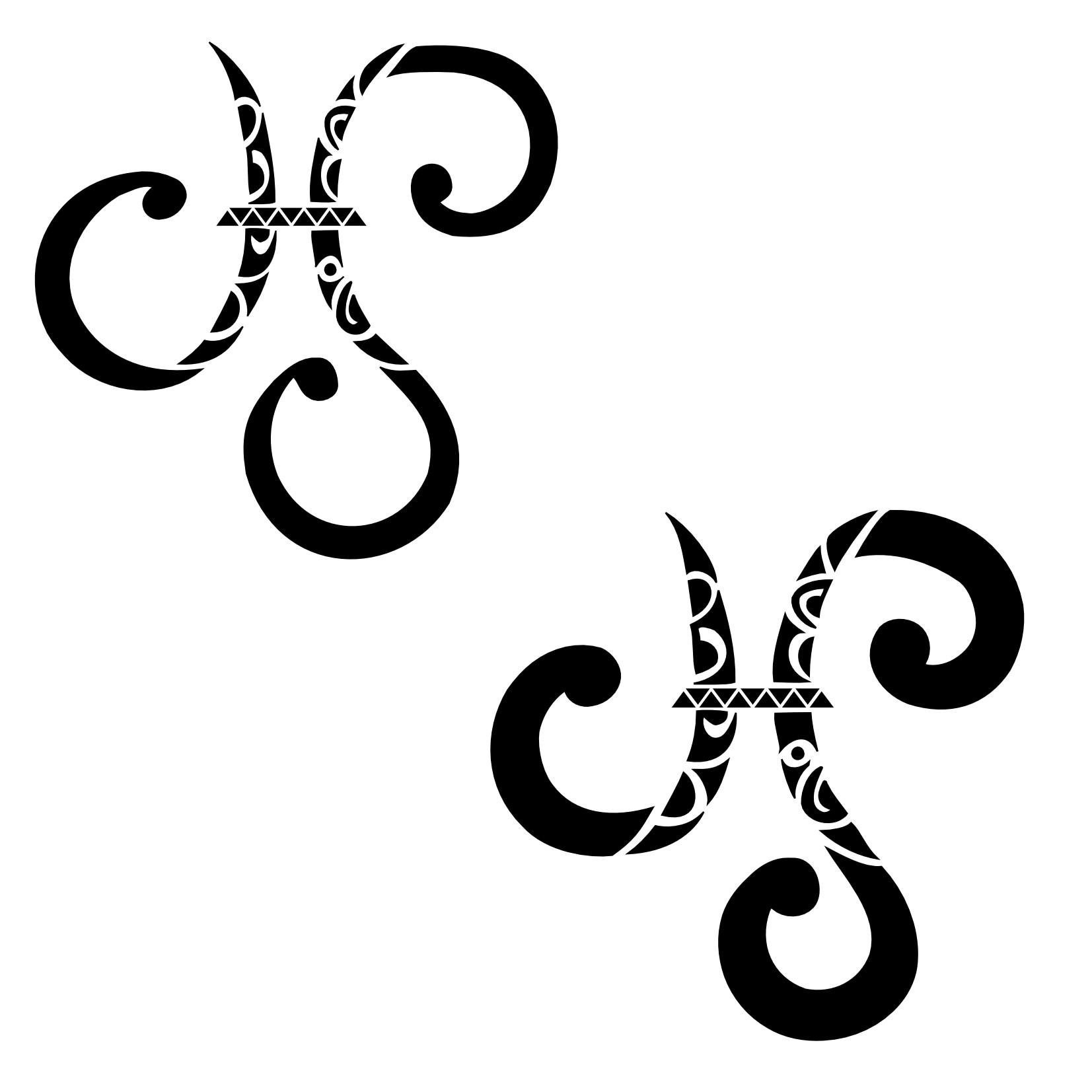 Sign tattoo designs - Pisces Tattoo Designs