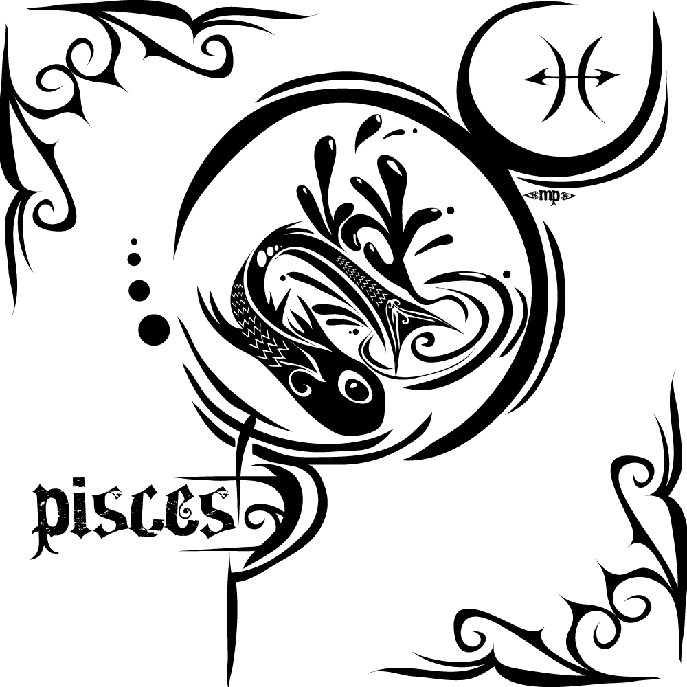 Pisces Tattoos Designs Ideas and