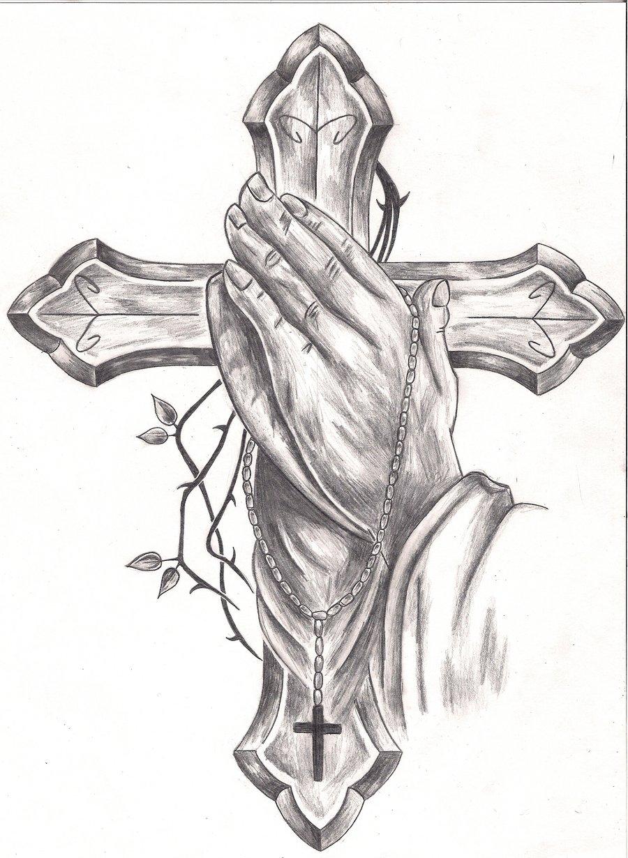Praying Hands Tattoos Designs