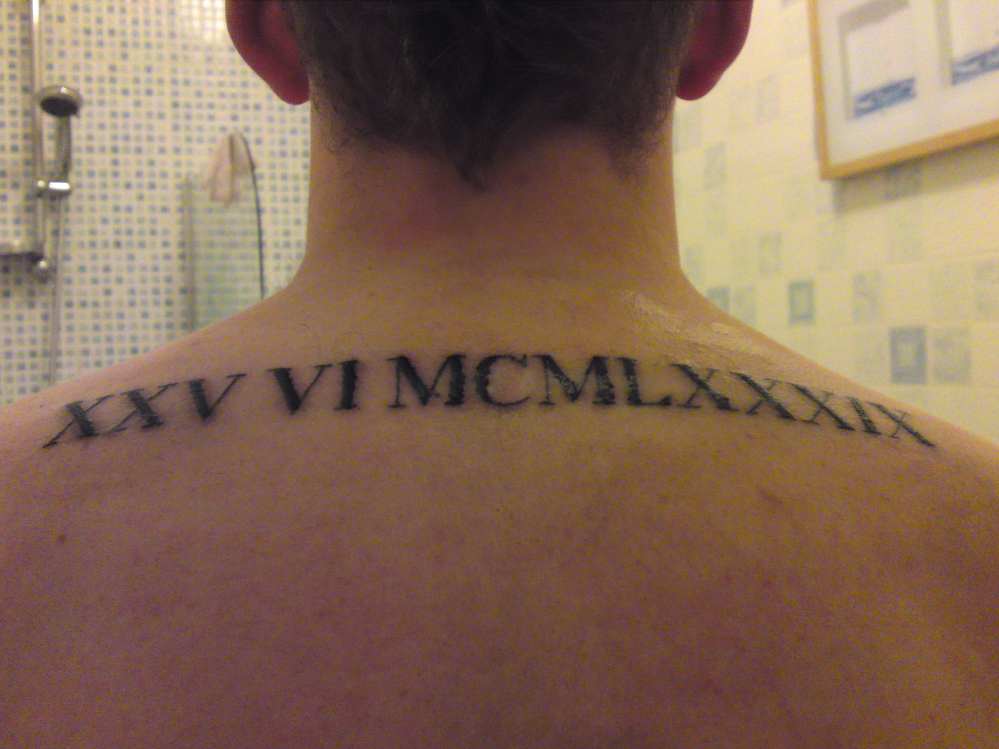 Roman Numeral Tattoos Designs Ideas And Meaning Tattoos For You