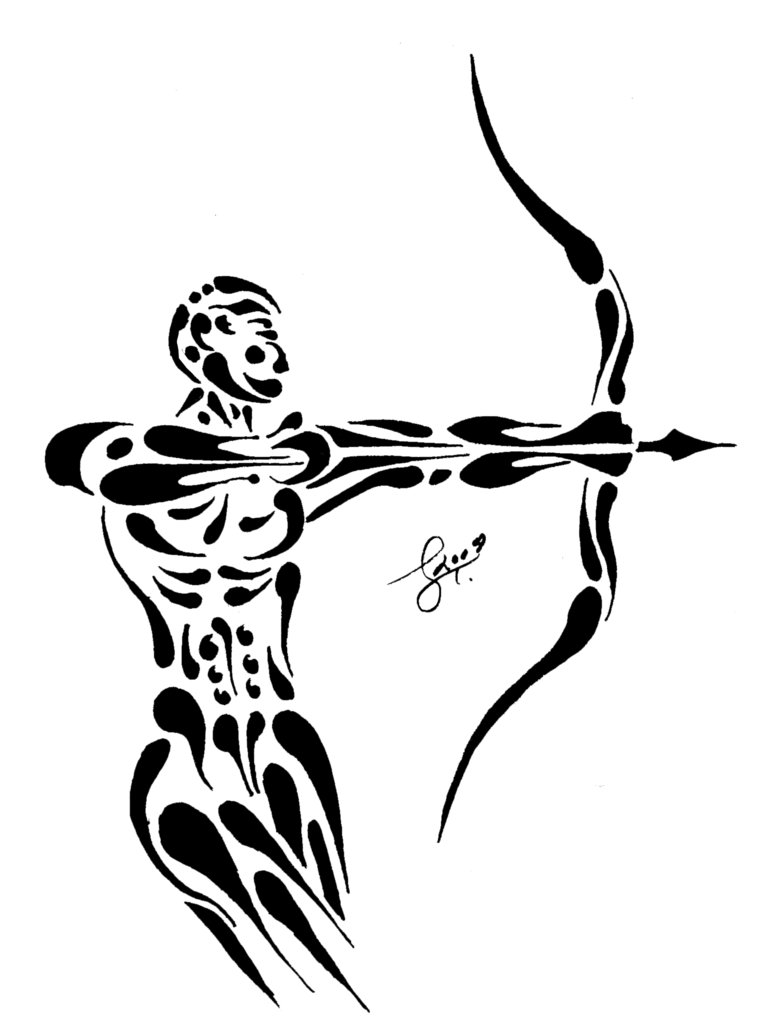 Sagittarius Tattoo Designs for Men