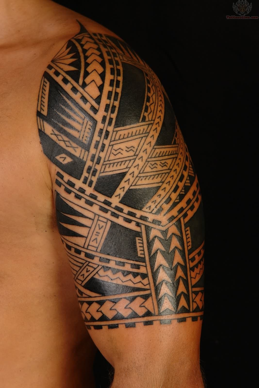 Men tribal tattoo design