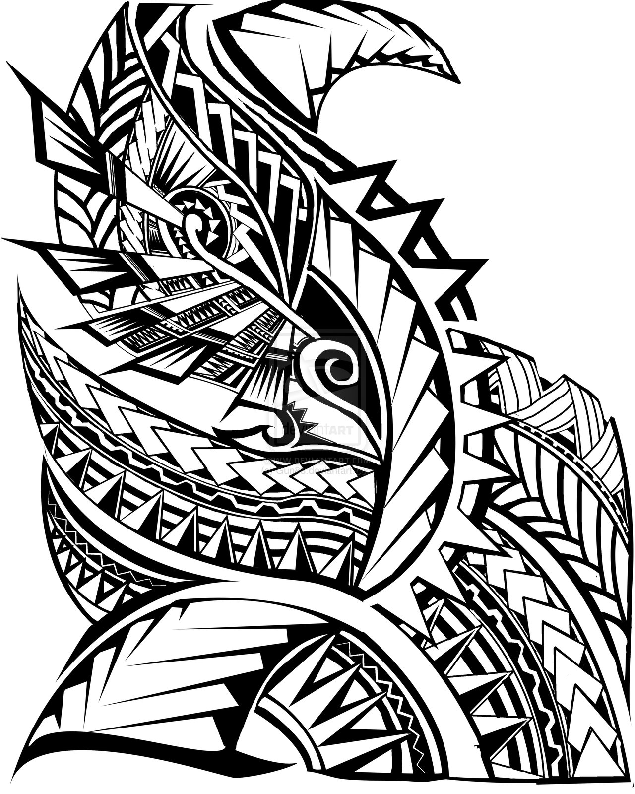 draw easy to tribal tattoos Designs, You For Meaning   Tattoos Samoan Ideas Tattoos and