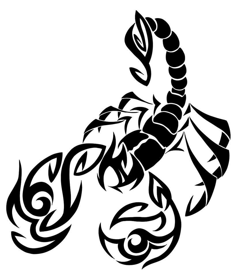 Tribal scorpion tattoos - photo#22