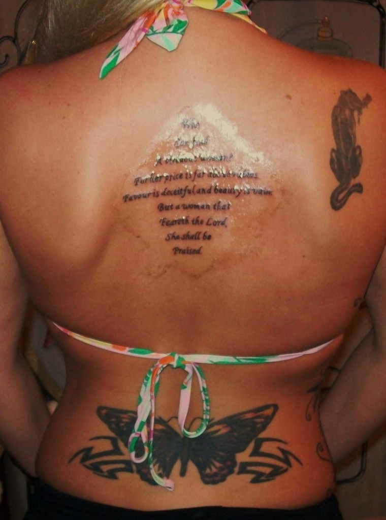 Scripture Tattoos For Women