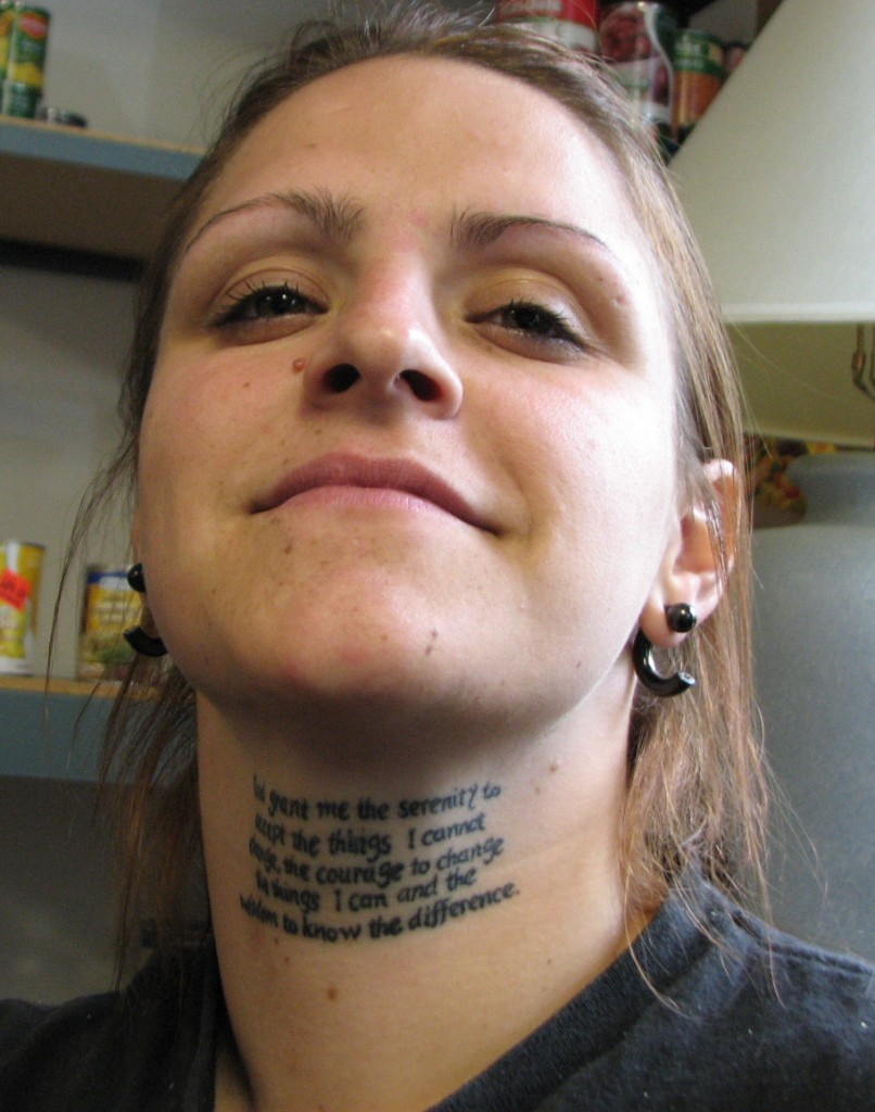 Serenity Prayer Tattoo Ideas