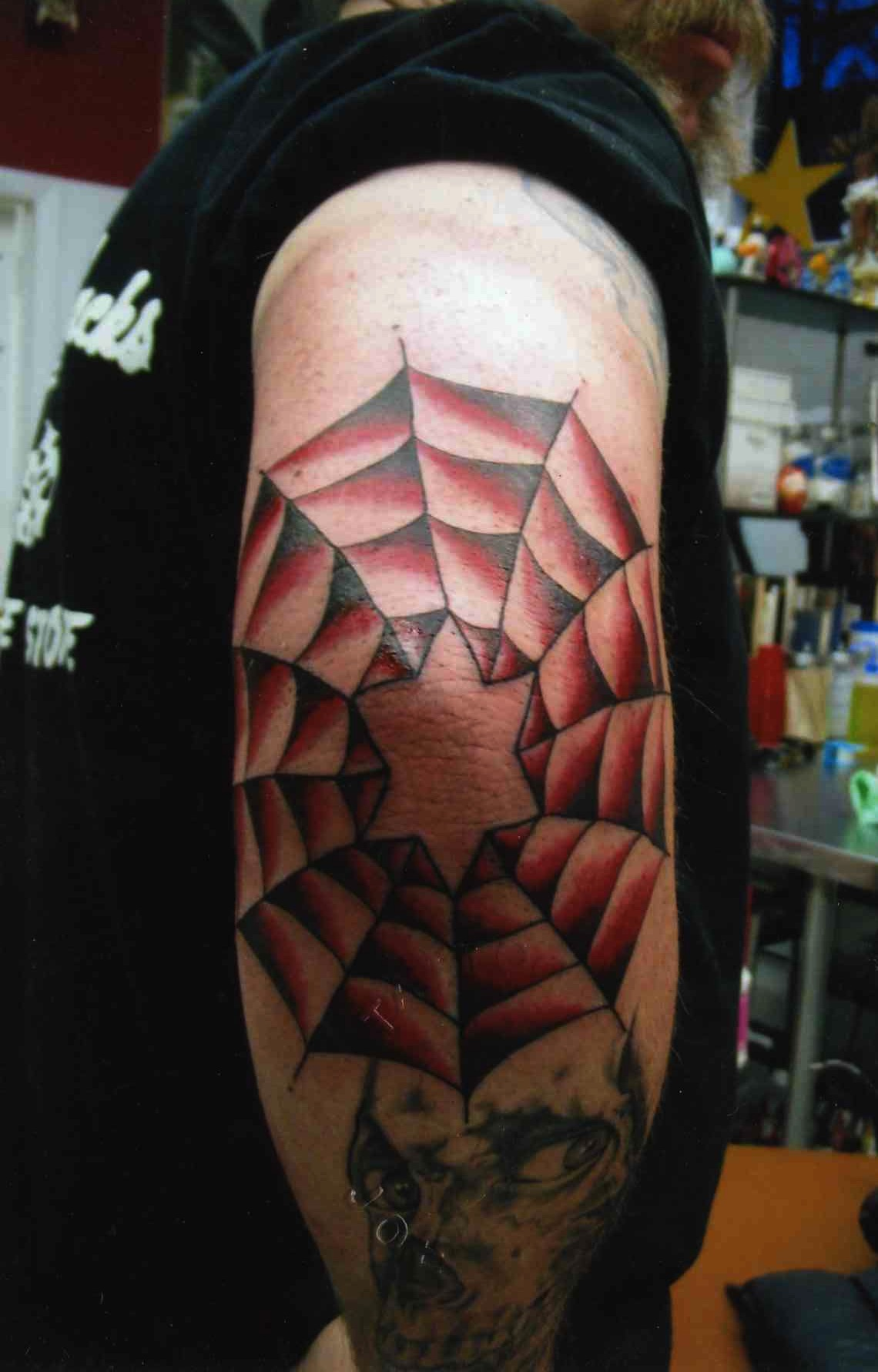 Spider Web Tattoos Designs Ideas And Meaning Tattoos For You