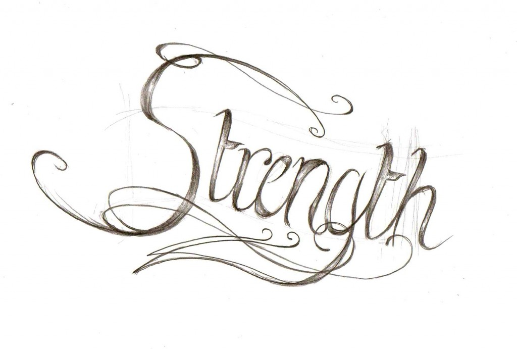 Strength Tattoos