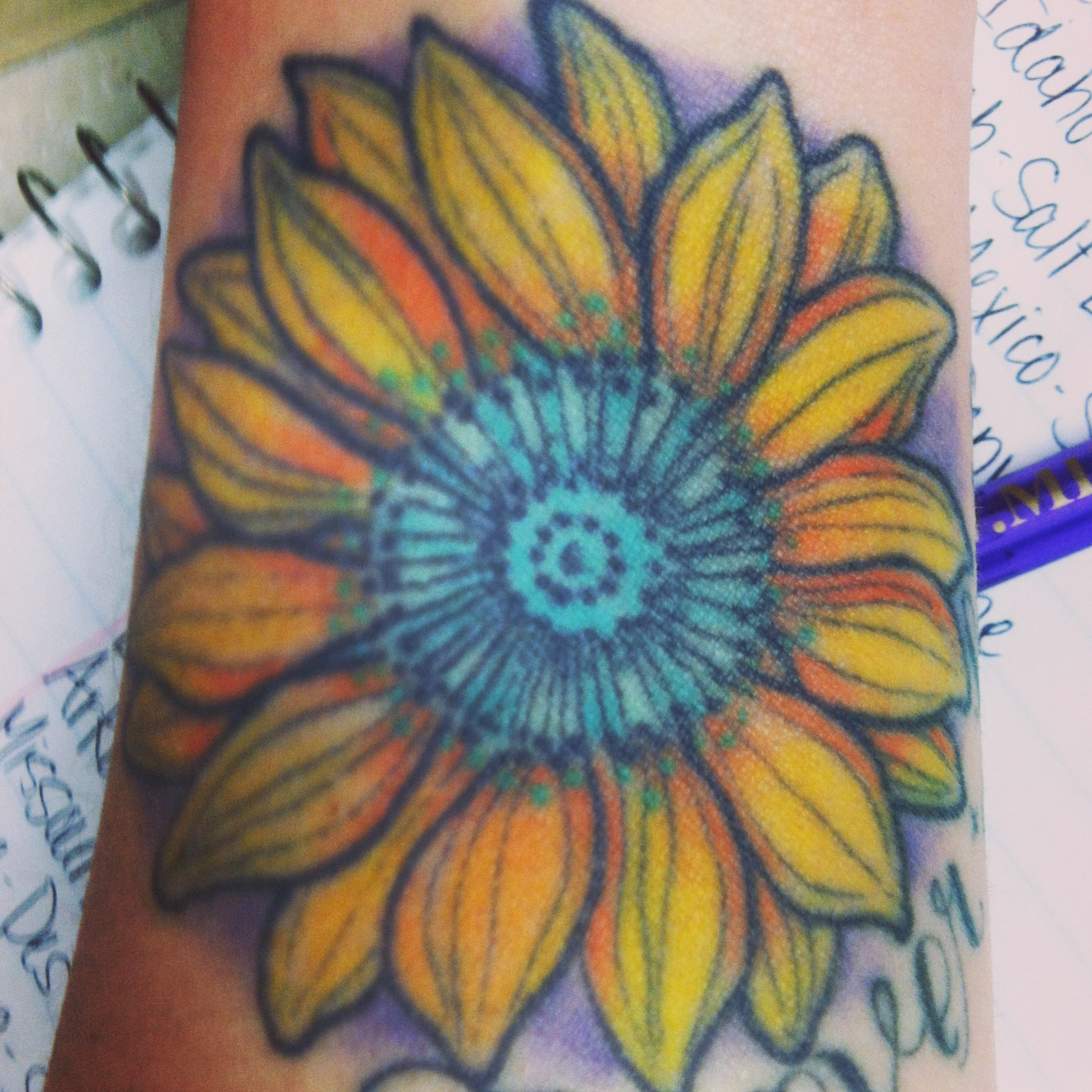Sunflower Tattoos Designs, Ideas and Meaning | Tattoos For You