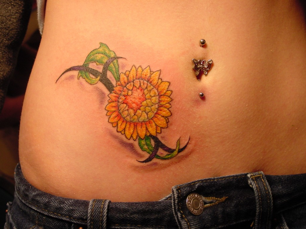 sunflower tattoos designs ideas and meaning tattoos for you
