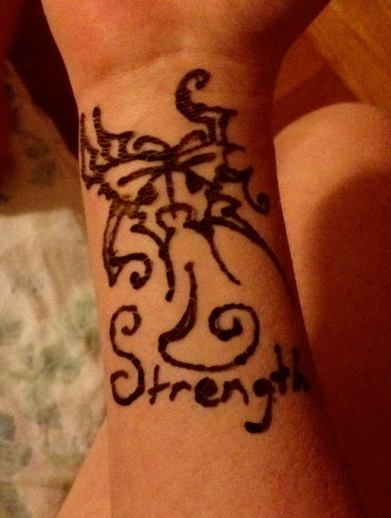 Tattoo For Strength