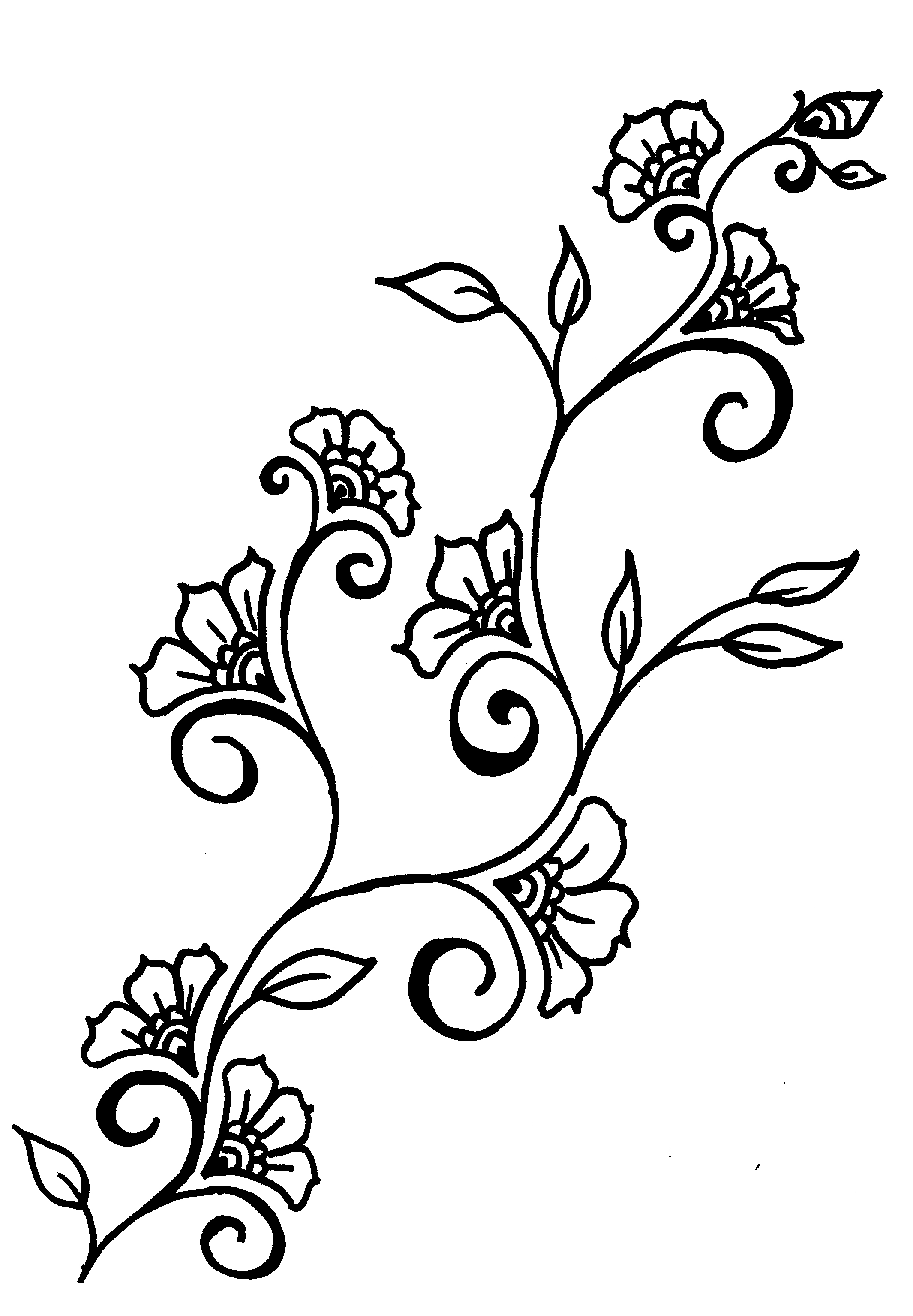 Vine tattoos designs ideas and meaning tattoos for you for Drawing design ideas