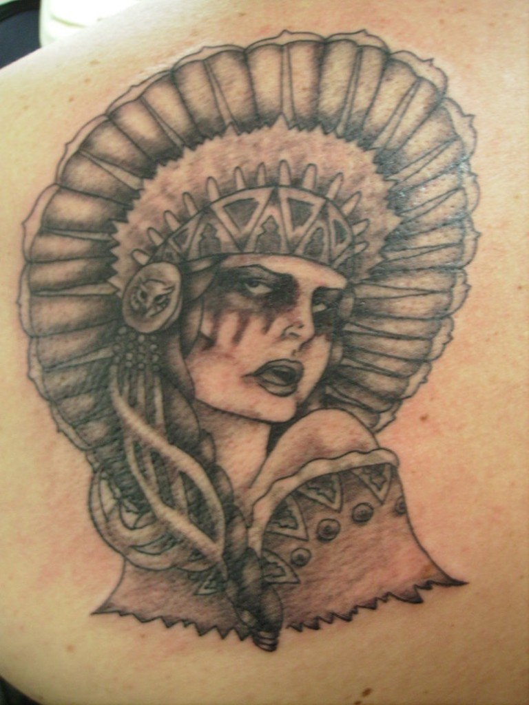 Pics Photos - Traditional Cherokee Indian Warrior Tattoos Image