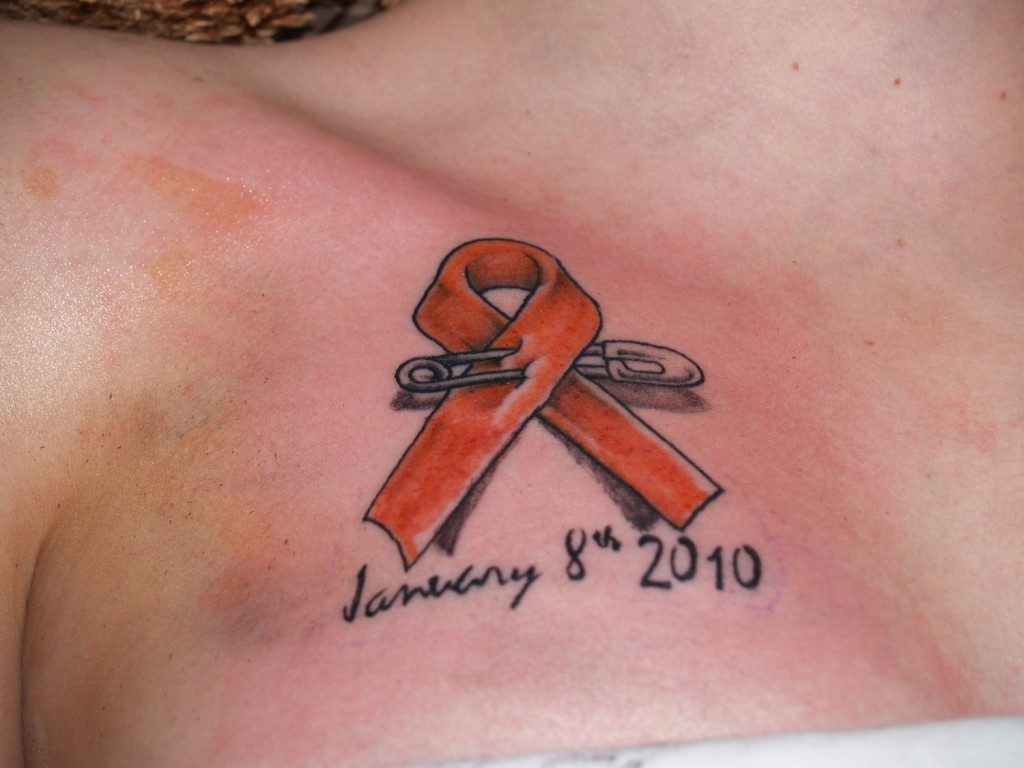 cancer ribbon tattoos designs ideas and meaning tattoos for you. Black Bedroom Furniture Sets. Home Design Ideas