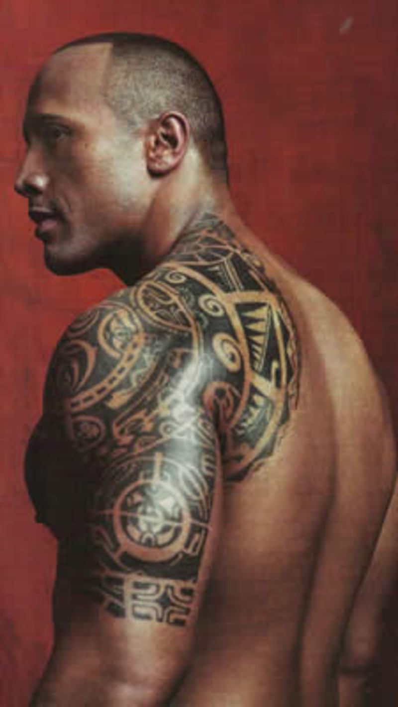 The Rock Tattoos Designs, Ideas and Meaning