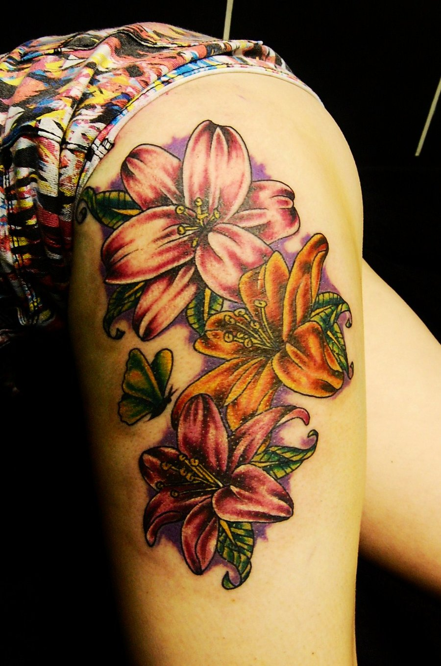 Flower Tattoo Designs For Women Unique: Lily Tattoos Designs, Ideas And Meaning