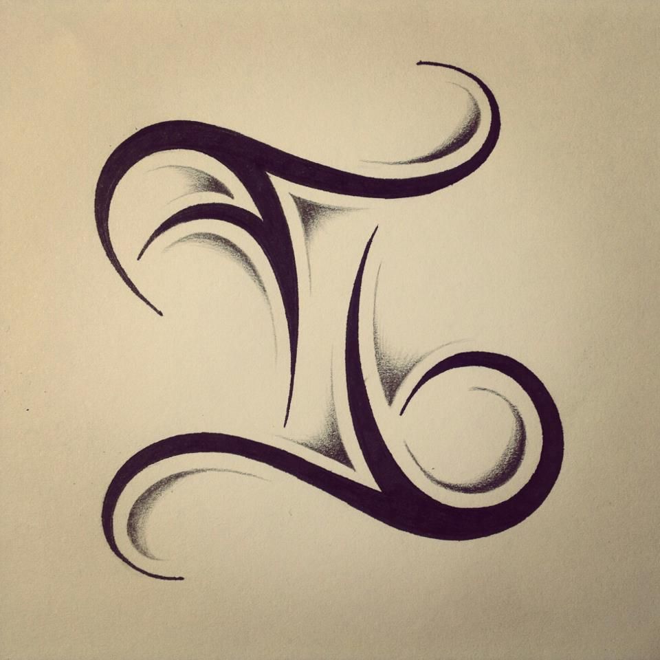 gemini tattoos designs ideas and meaning tattoos for you ForGemini Tribal Tattoo