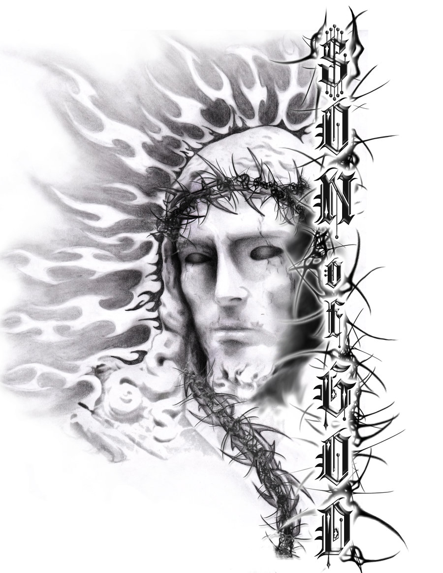 Jesus tattoos designs ideas and meaning tattoos for you for God s son tattoo