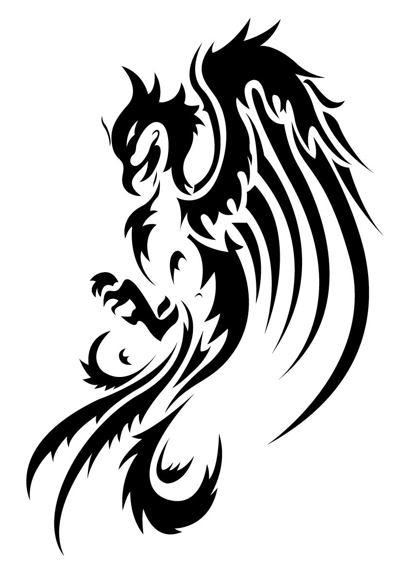 Phoenix tattoos designs ideas and meaning tattoos for you for Images of tribal tattoos