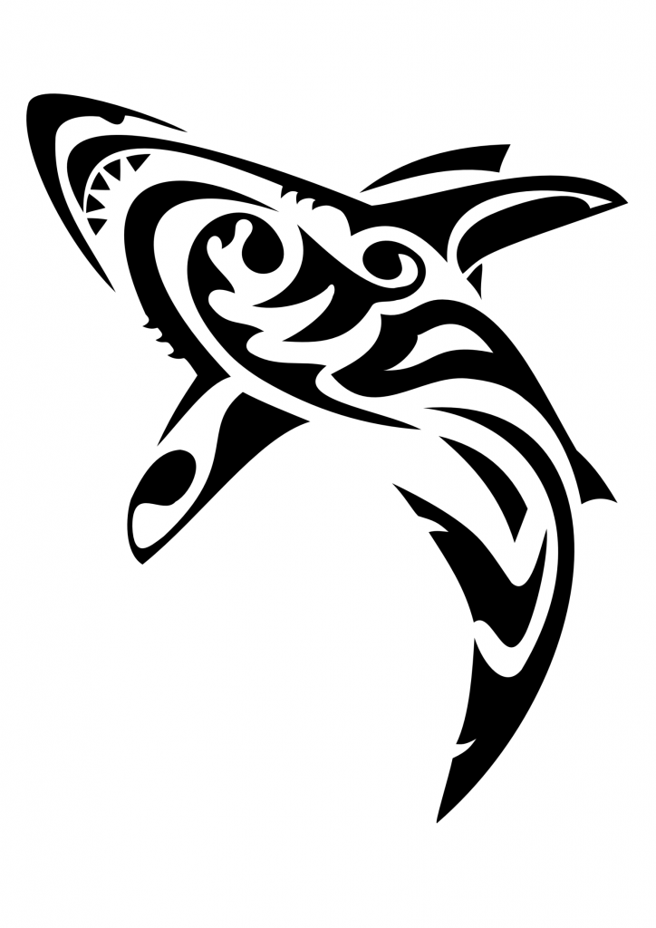 Shark tattoos designs ideas and meaning tattoos for you for Images of tribal tattoos
