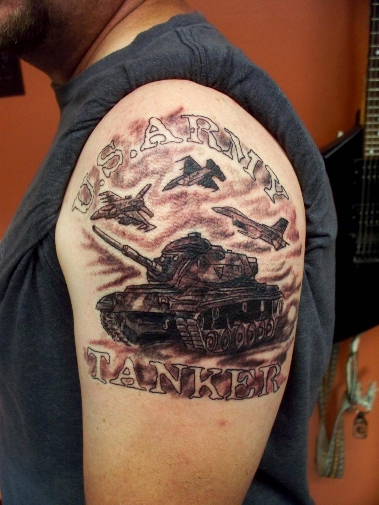 Military army tattoos designs ideas and meaning for Army officer tattoo policy