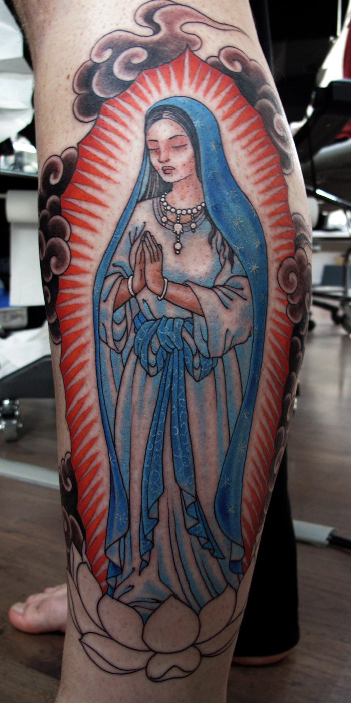 Virgin Mary Tattoos Designs Ideas and Meaning Tattoos