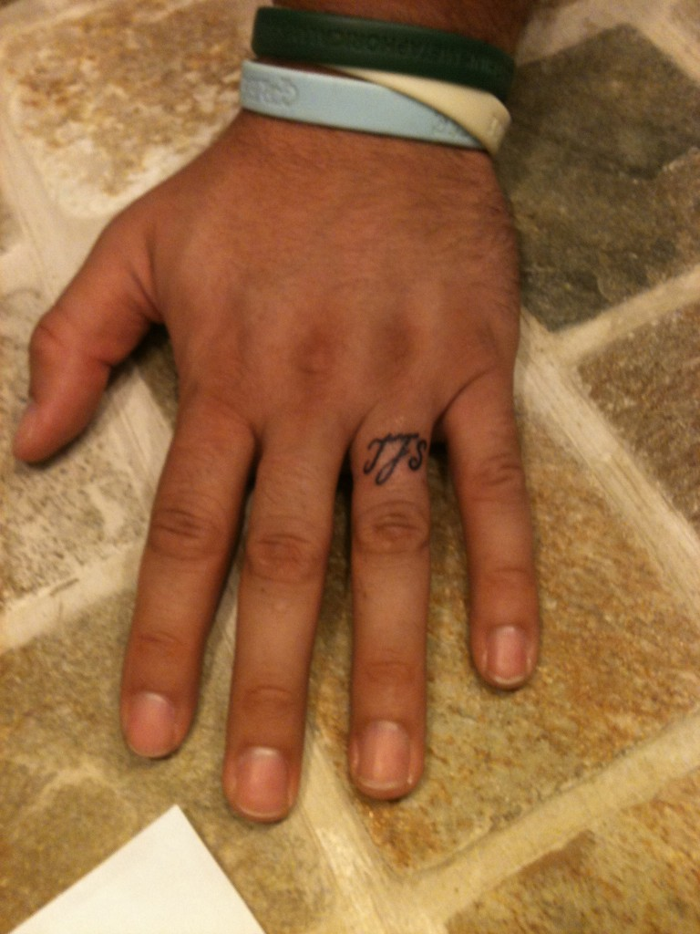 Wedding ring tattoos designs ideas and meaning tattoos for Wedding ring finger tattoos designs