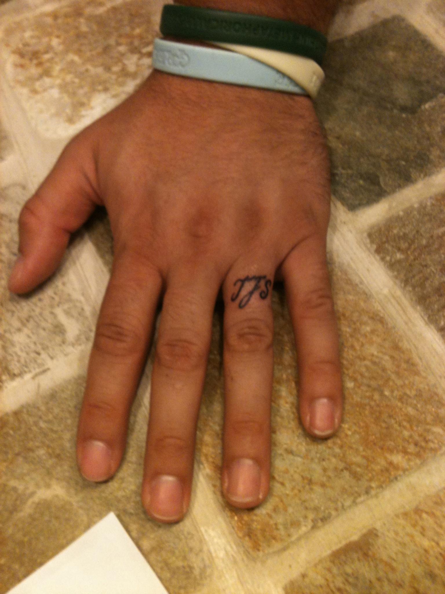 Wedding Ring Finger Tattoos Designs