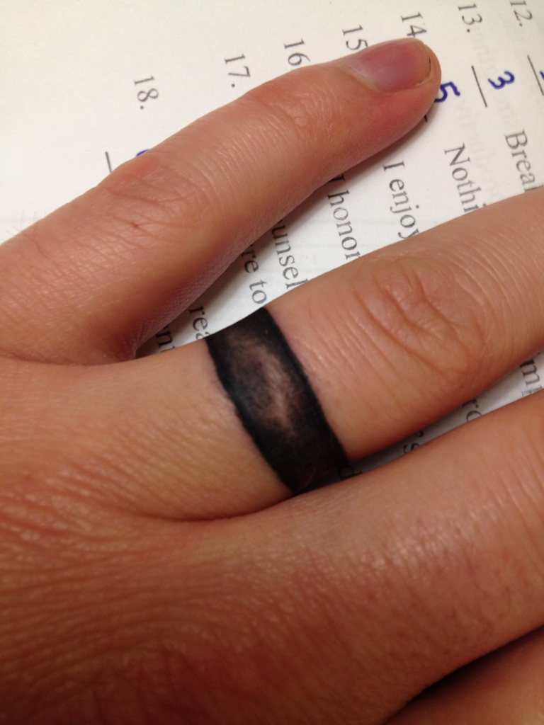 Wedding Ring Tattoos Designs, Ideas and Meaning | Tattoos For You