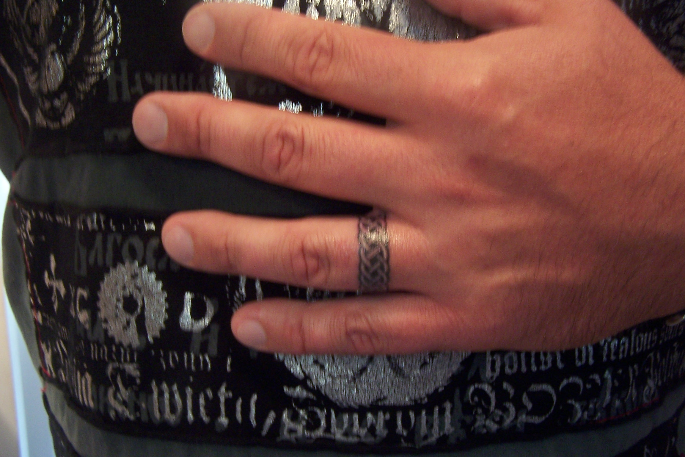 Wedding Ring Tattoos For Men