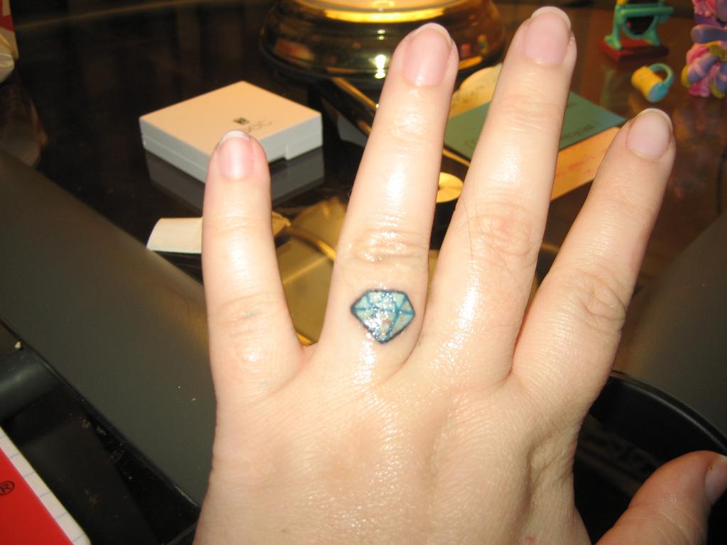 Wedding Rings Tattoo Designs