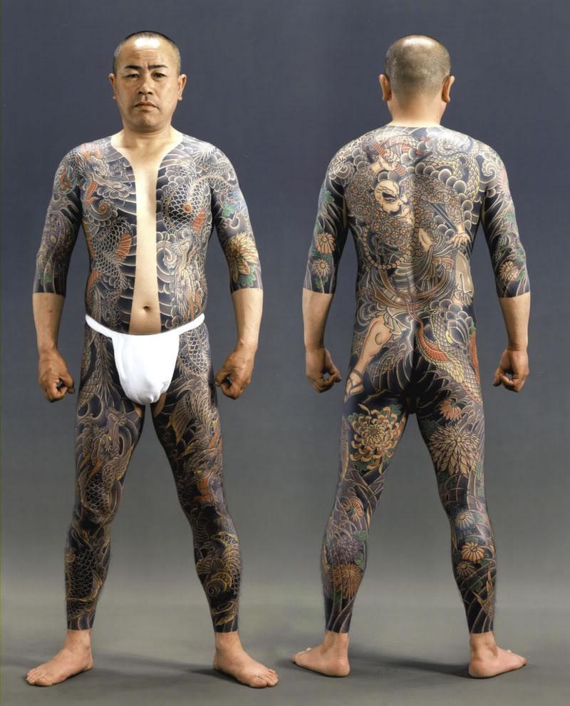 Man Yakuza Cigar Tattoo: Yakuza Tattoos Designs, Ideas And Meaning