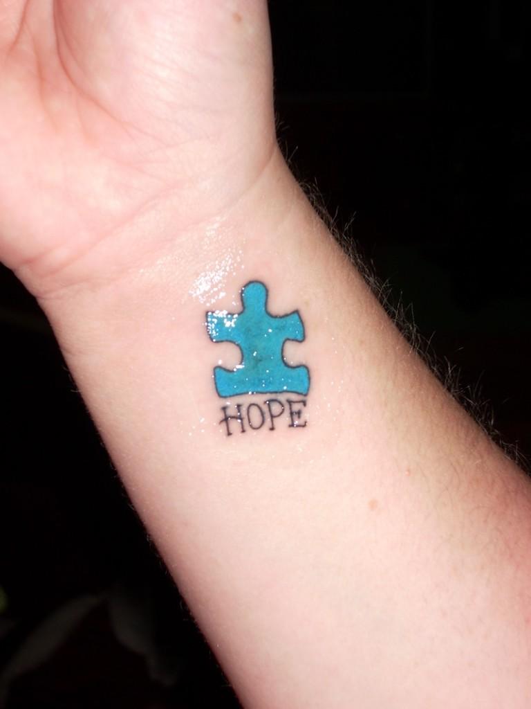 Autism Symbol Tattoos