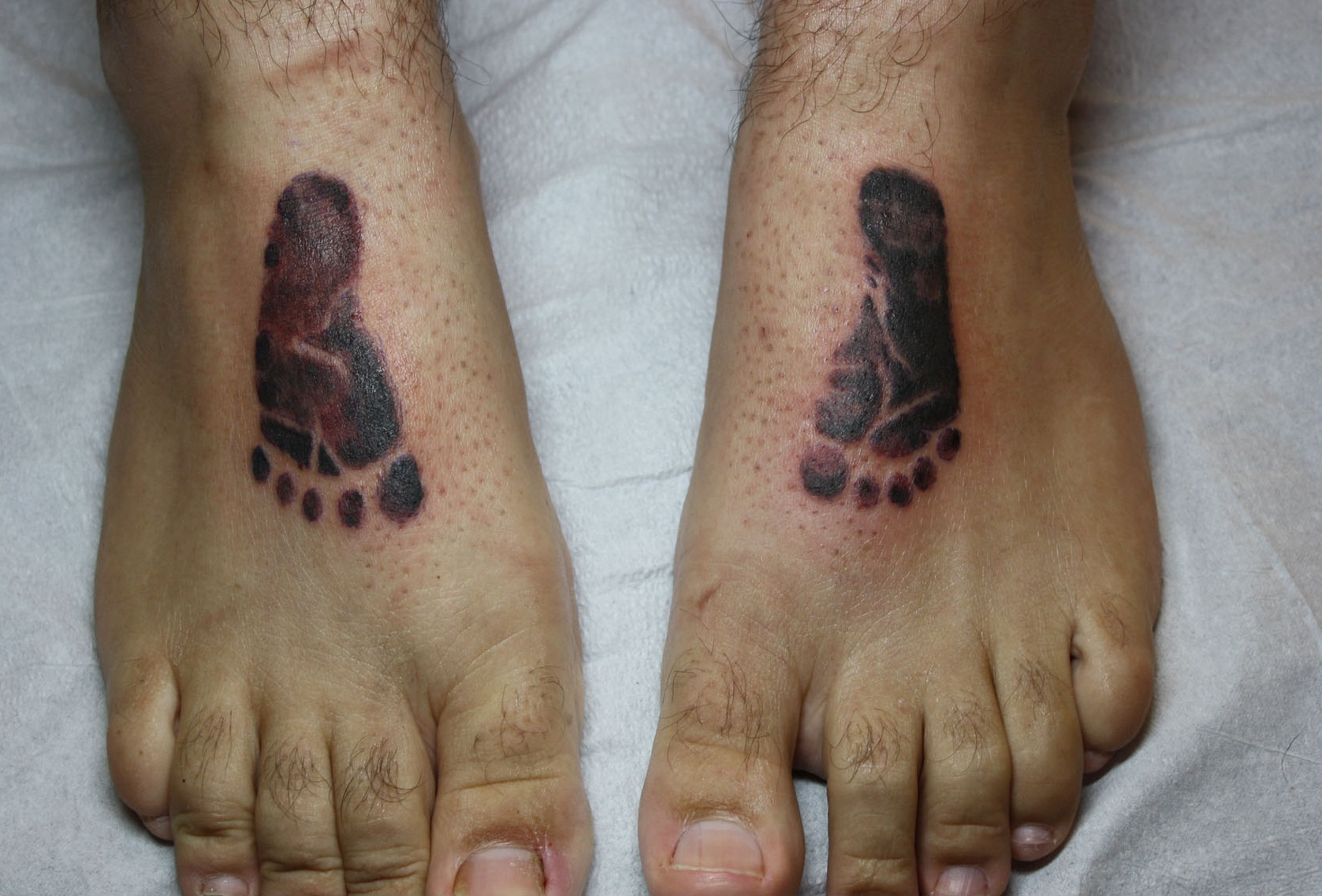 footprint tattoos designs ideas and meaning tattoos for you