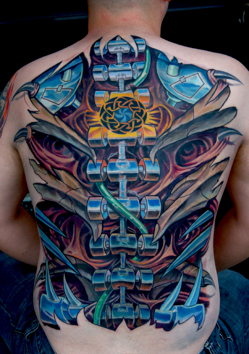 Designs For A Tarot Deck Celebrating: Biomechanical Tattoos Designs, Ideas And Meaning
