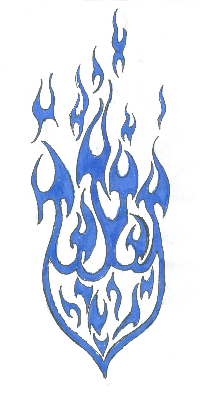 fire drawings design - photo #43