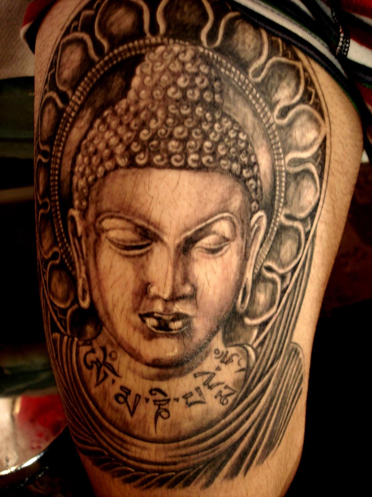 Buddhist Symbols And Meanings For Tattoos Buddhist Tattoos Desig...
