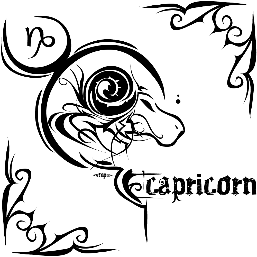 Capricorn tattoos designs ideas and meaning tattoos for you for Tattoo horoscope signs