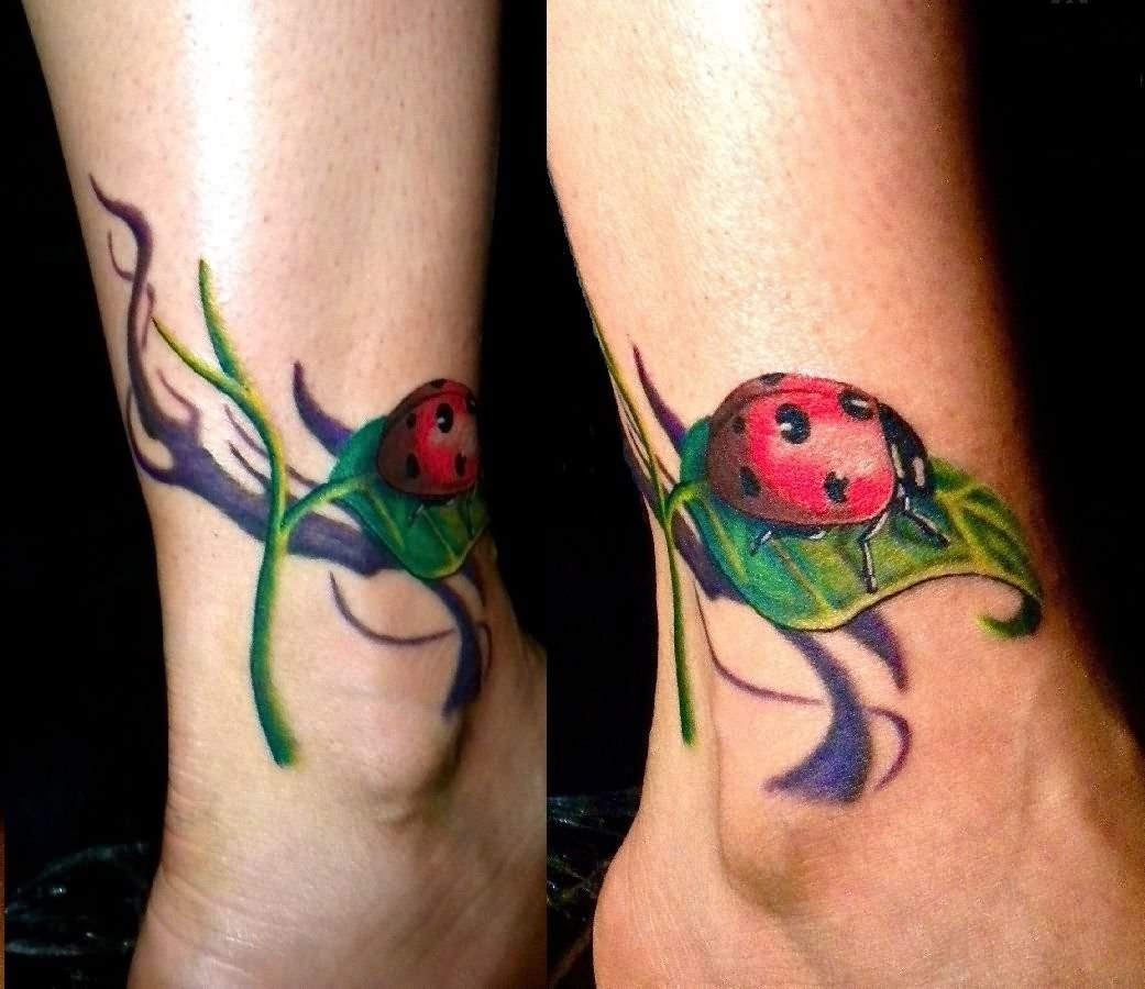 Ladybug Tattoos Designs, Ideas and Meaning.
