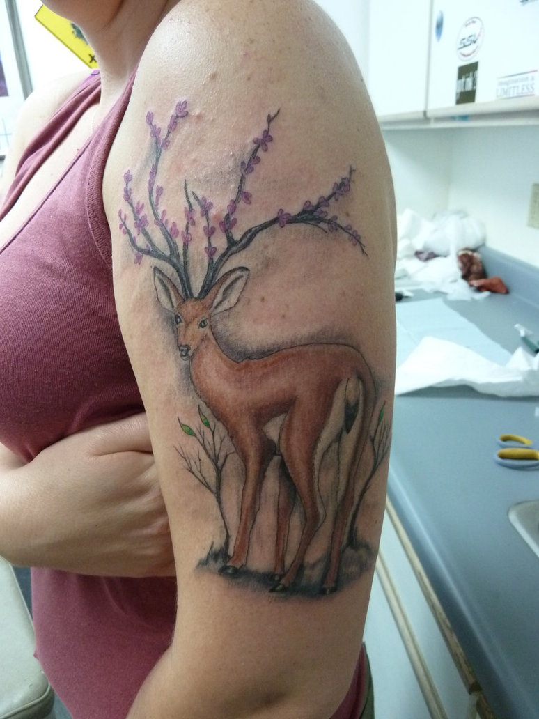 Deer Tattoos Designs, Ideas and Meaning | Tattoos For You