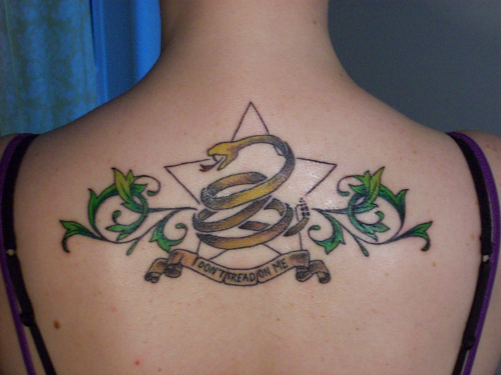 Don t Tread On Me Tattoos Designs, Ideas and Meaning