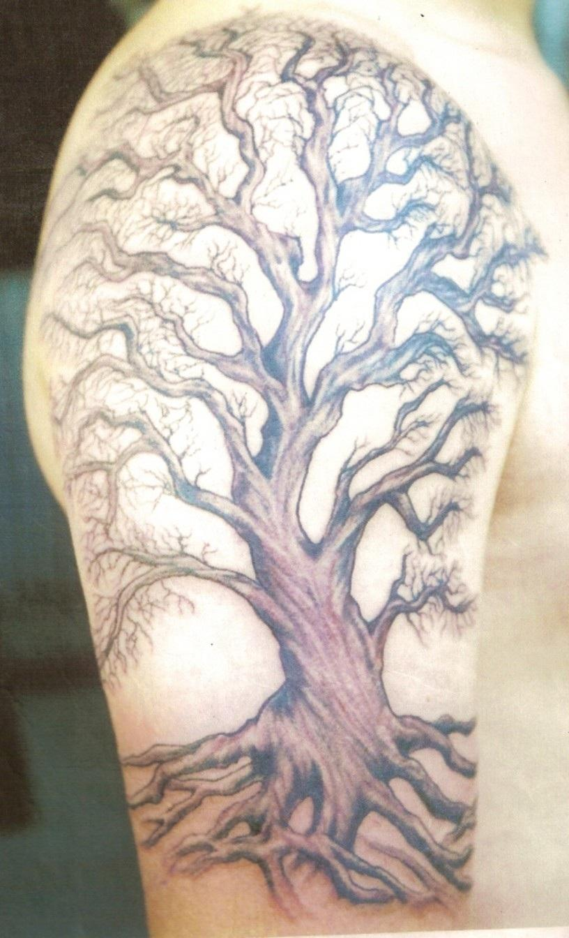 Family tree tattoos designs ideas and meaning tattoos for Fig tree tattoo