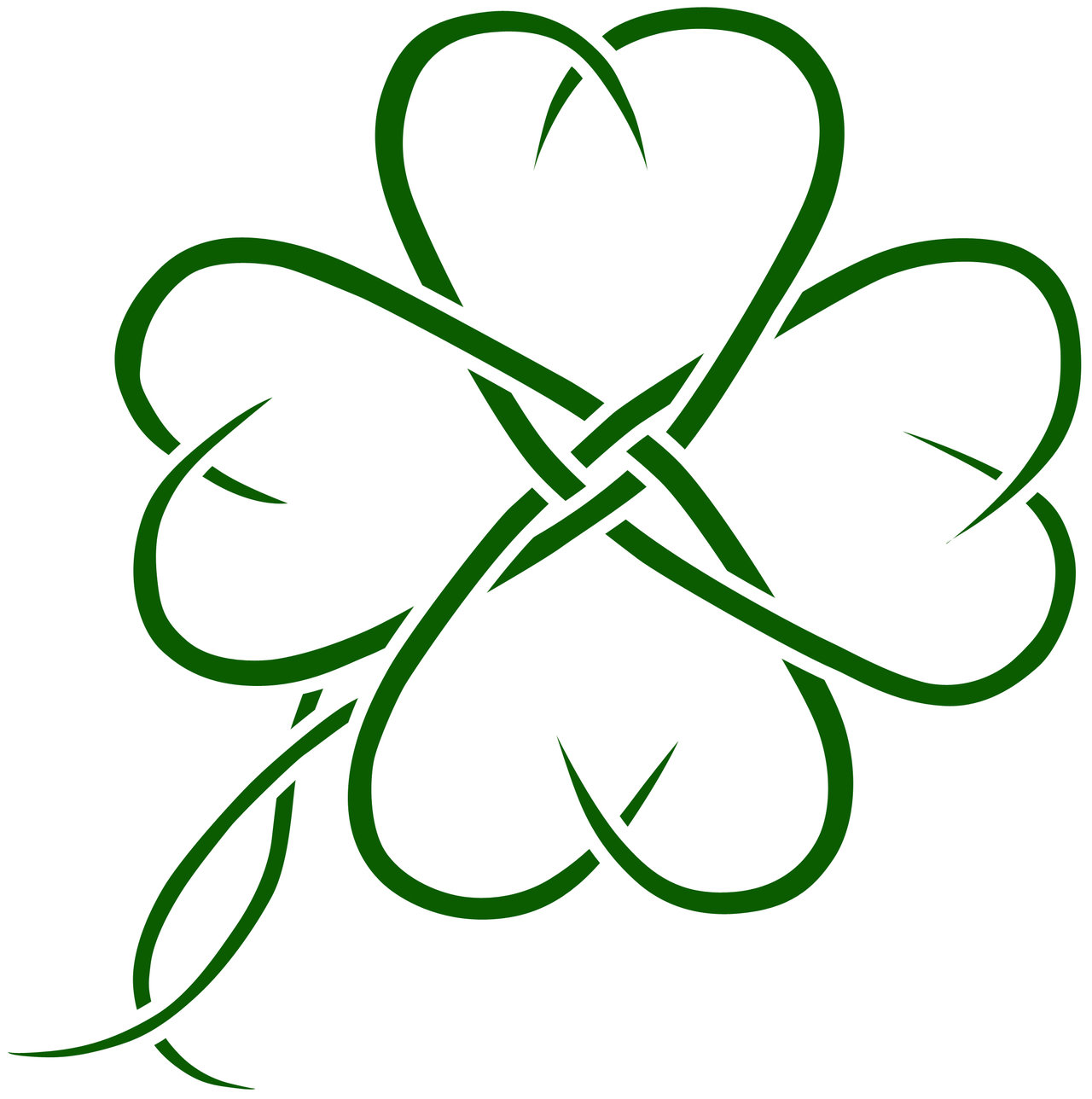 Four Leaf Clover Tattoos Designs, Ideas and Meaning | Tattoos For You: www.tattoosforyou.org/four-leaf-clover-tattoos.php